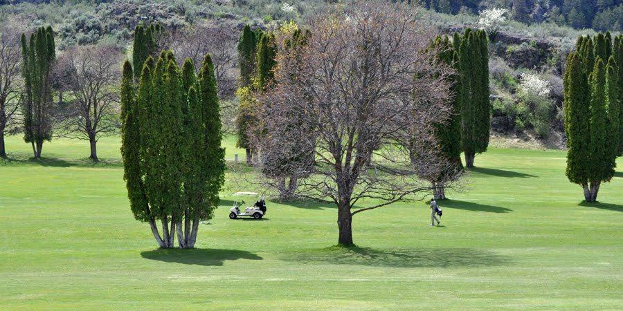 Enjoy a round of golf in Oroville near the Lodge at Palmer Lake