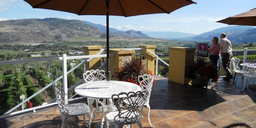 Visit Okanagan wineries from Osoyoos to Penticon near the Lodge at Palmer Lake